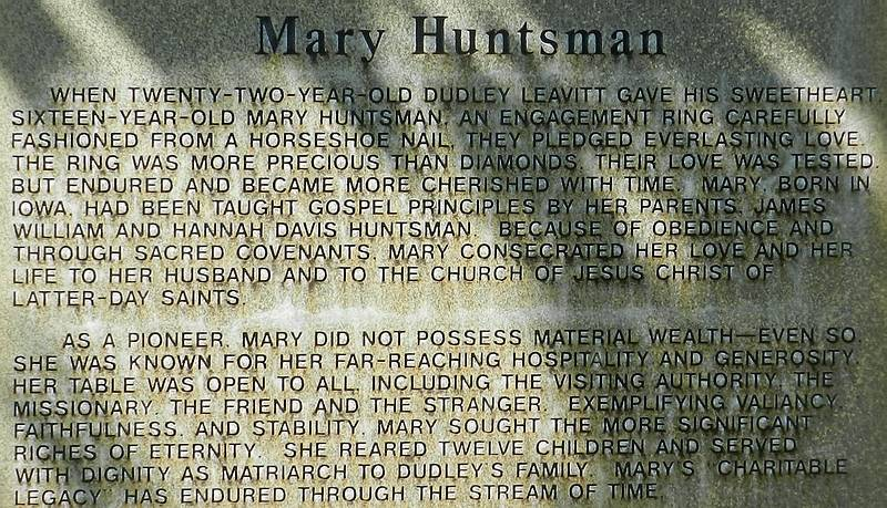 Mary Huntsman